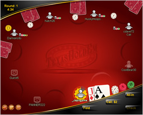 MSN Games' Texas Hold 'Em Poker: Knowing When to Fold